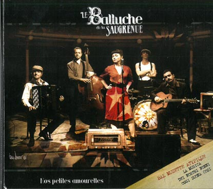 Pierre Mager from the gypsy jazz band Autour de django present the face of the album nos petites amourettes  from his old band le balluche de la saugrenue published in 2011.