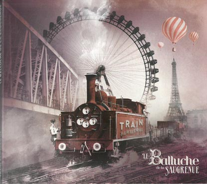 Pierre Mager from the gypsy jazz band Autour de django present the face of the album train fantasque from his old band le balluche de la saugrenue published in 2013.